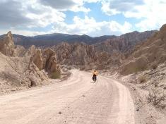 Quebrada de las Flechas, Ruta 40